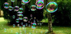 bulles de savons